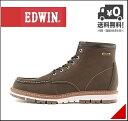 エドウィン メンズ ワークブーツ 防水 防滑 雨 雪 靴 カジュアル デイリー アウトドア リゾート EDWIN EDM-9807 カーキ