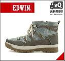 エドウィン ウィンターブーツ ショートブーツ メンズ レインブーツ 長靴 レースアップ サイドジップ 防水 防滑 雨 雪 靴 カジュアル デイリー トラベル レジャー アウトドア EDWIN EDM-9905 ブルー