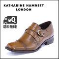 KATHARINEHAMNETT(キャサリンハムネット)メンズビジネスシューズ3956ブラウン
