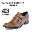 KATHARINE HAMNETT(キャサリンハムネット) メンズ ビジネスシューズ 3956 ブラウン