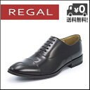 リーガル ビジネスシューズ 靴 メンズ REGAL ストレートチップ 811R AL ブラック【メンズバーゲン】