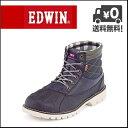 EDWIN(エドウィン) メンズ カジュアルブーツ EDM-8120 ネイビー