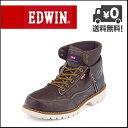 EDWIN(エドウィン) メンズ カジュアルブーツ EDM-8500 ダークブラウン【メンズバーゲン】