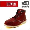 EDWIN(エドウィン) メンズ カジュアルブーツ EDM-8600 レッドブラウン