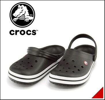 クロックス クロッグ スポーツ サンダル メンズ クロックバンド 軽量 クッション性 撥水 カジュアル デイリー トラベル レジャー アウトドア オフィス CROCBAND crocs 11016 ブラック