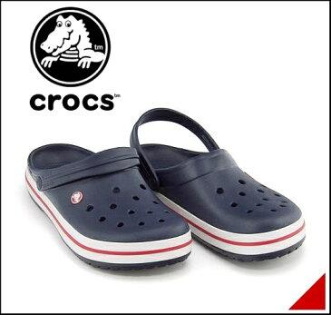 クロックス クロッグ スポーツ サンダル メンズ クロックバンド 軽量 クッション性 撥水 カジュアル デイリー トラベル レジャー アウトドア オフィス CROCBAND crocs 11016 ネイビー
