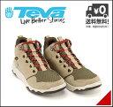 テバ ハイカット スニーカー ブーツ メンズ アローウッド ミッド ウォータープルーフ 軽量 クッション性 耐久性 防水 雨 雪 靴 カジュアル デイリー トラベル アウトドア ARROWOOD MID WP Teva 1012484 プラザトープ