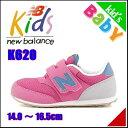 ニューバランス 女の子 キッズ 子供靴 運動靴 通学靴 スニーカー 通気性 クッション性 カジュアル デイリー スポーツ K620 new balance 1010672 ピンク