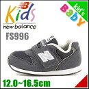 ニューバランス女の子男の子キッズベビー子供靴運動靴通学靴ベビーシューズスニーカー安定性通気性クッション性FS996newbalance161996ネイビー