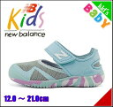 ニューバランス 女の子 キッズ ベビー 子供靴 通学靴 運動靴 ベビーシューズ サマーシューズ サンダル スニーカー KA208 ストラップ 通気性 屈曲性 耐久性 防滑 カジュアル デイリー アウトドア レジャー new balance 170208 サックス