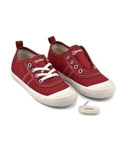 コンバース スリッポン スニーカー 女の子 キッズ 子供靴 運動靴 通学靴 キッズビッグCTSスリップOX クッション性 屈曲性 W カジュアル デイリー スポーツ スクール 学校 KIDS BIG C TS SLIP OX converse 3CL559 ヴィンテージレッド