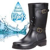 【送料無料】メンズレインブーツ2600長靴レインシューズエンジニアブーツ防水抗菌消臭防滑靴Y_KO