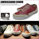 AMERICANINO EDWIN アメリカニーノ エドウィン スニーカー カジュアル ローカット メンズ AE827【Y_KO】 【SHA】■180401