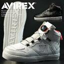【送料無料】AVIREX ブーツ スニーカー メンズ ブランド アヴィレックス アビレックス Y_KO AV2278 ディクティター DICTATOR レディース ミドルカット カジュアルシューズ バ