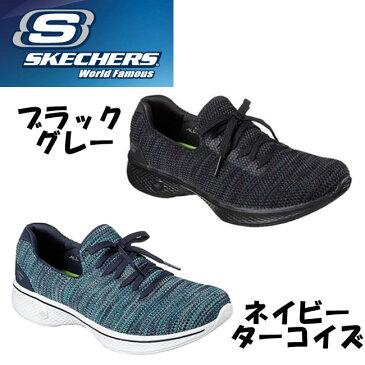 【クリアランス】 SKECHERS 【スケッチャーズ】 GO WALK 4 【ゴーウォーク】 14919 レディース・スリッポン・スニーカー (B倉庫) 【国内正規品】【送料無料】