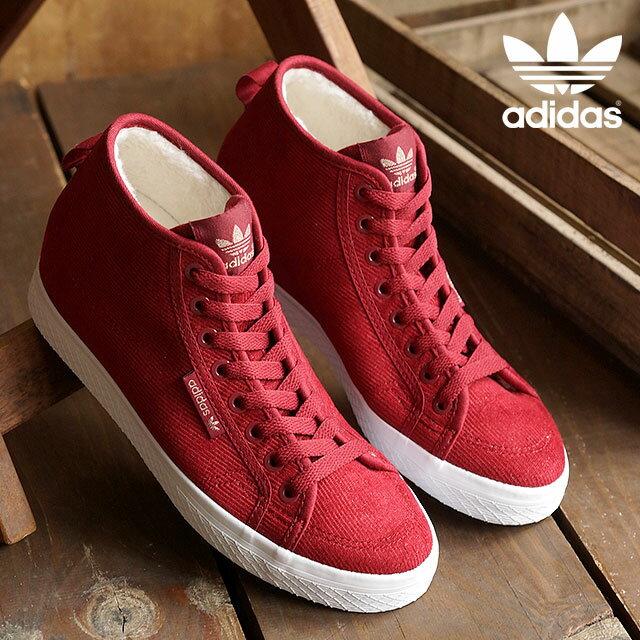 adidasオリジナルス スニーカー 赤