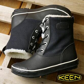 熱衷於熱衷於婦女的冬季靴子靴子艾爾莎引導 WP WMN 艾爾莎靴防水女黑色 (1013971 FW15)