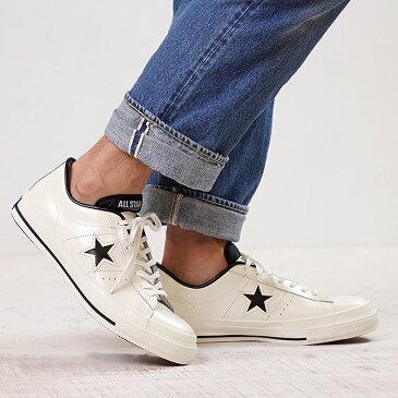 【即納】【返品サイズ交換可】CONVERSE コンバース ONE STAR J ワンスター J ホワイト/ブラック (32346510)【e】【コンビニ受取対応商品】