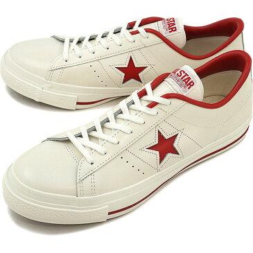 【即納】【返品サイズ交換可】CONVERSE コンバース ONE STAR J ワンスター J ホワイト/レッド (32346512)【e】【コンビニ受取対応商品】