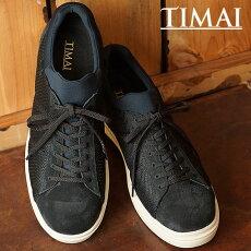 【即納】ティマイアクダTIMAIメンズレディース靴スニーカーブーツAKUDAブラック(TIHUD074-01)【コンビニ受取対応商品】