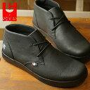 【即納】コンカラー シューズ CONQUEROR SHOES ユーコン YUKON メンズ スニーカー 靴 BLACK (18FW-YK01 FW18)【コンビニ受取対応商品】