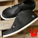 【即納】コンカラー シューズ CONQUEROR SHOES フローター FLOATER メンズ スニーカー 靴 BLACK (241)【コンビニ受取対応商品】
