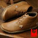 【即納】コンカラー シューズ CONQUEROR SHOES クレスト CREST メンズ スニーカー 靴 BROWN (116)【コンビニ受取対応商品】