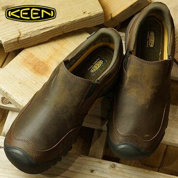 キーン KEEN メンズ ブリクセン ツー ウォータープルーフ MEN BRIXEN II WP スリッポン ウィンターシューズ 靴 Dark Earth (1019933 FW18)【コンビニ受取対応商品】