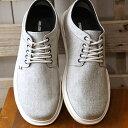 【即納】コンカラー シューズconqueror shoes メンズ マンハッタン MANHATTAN サーフ カジュアル スニーカー 靴 WHT GRAY ホワイト系 (170 SS19)