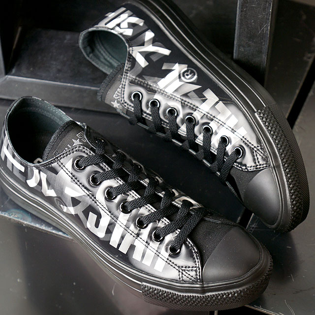 メンズ靴, スニーカー  CONVERSE OX ALL STAR LIGHT LENTICULAR BIGLOGO OX 31302531 FW20 BLACK ets