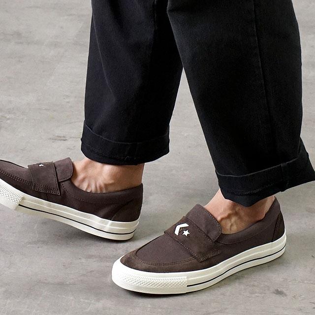 メンズ靴, スニーカー  CONVERSE CS SK CS LOAFER SK 34200411 FW20 BROWN ets