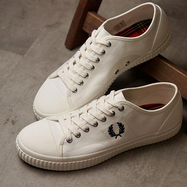 メンズ靴, スニーカー  FRED PERRY HUGHES LOW CANVAS B8108-760 FW20 LIGHT ECRU