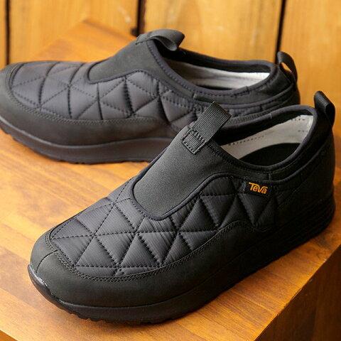 テバ Teva スニーカー エンバー コミュート スリッポン ウォータープルーフ M EMBER COMMUTE SLIP-ON WP (1116051 FW20) メンズ 防水 モック スリッポン 靴 BLK ブラック系