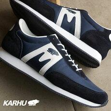 KARHUカルフスニーカー靴メンズレディースアルバトロスディープネイビー/ホワイト(KH802501FW15)