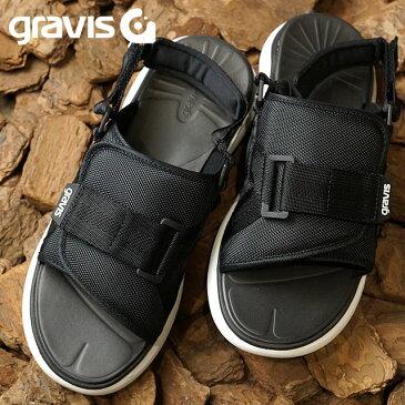 【即納】gravis グラビス メンズ レディース CARDIFF カーディフ BLACK (71000 SS17) shoetime【コンビニ受取対応商品】