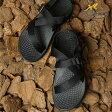 【即納】Chaco チャコ サンダル MNS ZVOLV メンズモデル BLACK (J105085 SS17)【コンビニ受取対応商品】