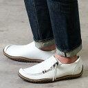 【即納】コンカラー オアシス conqueror メンズ シューズ OASIS レザー/ホワイト 靴 (130 SS19