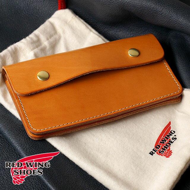 財布・ケース, メンズ財布 REDWING TRUCKER WALLET HERMANN OAK BRIDLE red wing 95023 SS18