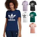 【即納】adidas アディダス Tシャツ レディース TREFOIL TEE トレフォイル Tシャツ adidas Originals アディダスオリジナルス (EKC86/CV9888)【コンビニ受取対応商品】【メール便可】