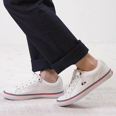 【サイズ交換片道送料無料】LACOSTE ラコステ スニーカー 靴 レディース LEROND 218 1 QSP レロンド ホワイト (CAW0092-21G)