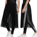 【即納】アディダス オリジナルス adidas Originals レディース スカート チュール SKIRT TULLE シースルー ジャージ プリーツスカート ロングスカート (FUW53/DX3696 SS19)
