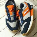 【即納】エレッセ ellesse ヘリテージ LS117 '19 ボア Heritage LS117 '19 BOA メンズ レディース スニーカー 靴 NO ネイビー/オレンジ ネイビー系 (EFH9123 SS19)