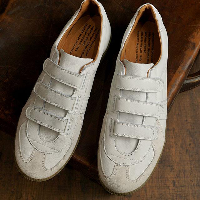 メンズ靴, スニーカー  REPRODUCTION OF FOUND GERMAN MILITARY TRAINER VELCRO WHITE 1703LD SS20