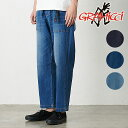 グラミチ GRAMICCI メンズ デニム ルーズテーパドパンツ DENIM LOOSE TAPERED PANTS (2002-DEJ SS20) ストレッチ ロングパンツ ボトムス