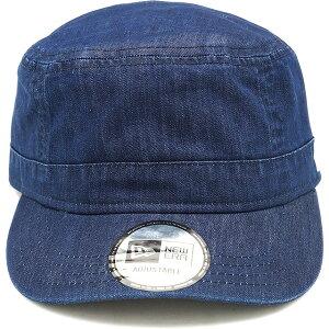 ニューエラ アウトドア NEWERA OUTDOOR ワークキャップ シェルテック デニム WM-01 Adjustable SHELTECH DENIM (12325666 SS20) メンズ・レディース UVカット 抗菌 フリーサイズ 帽子 WASH ネイビー系