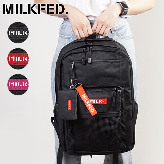 男女兼用バッグ, バックパック・リュック  MILKFED. W ZIP BACKPACK 103202053019