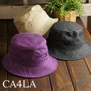 カシラ CA4LA ハット THE ONLY WAY OUT IS IN HAT (CAW00525 SS21) メンズ・レディース フリーサイズ デニム 帽子