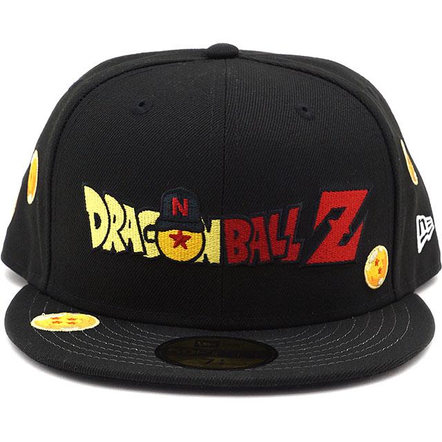 メンズ帽子, キャップ  NEWERA Z 59FIFTY DRAGON BALL Z 12654552 SS21 CAP BLACK