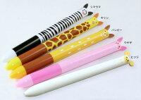 ★サカモト/mimiペン!アニマルシリーズ!m-mかわいい2色ボールペン★
