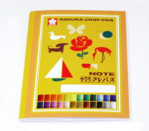 ☆KITERA × サクラクレパス☆コラボノート!クレパス柄ノートビーB5☆